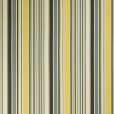 Lemon Stripes Drapery and Upholstery Fabric by Fabricut