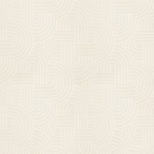 Cream Geometric Drapery and Upholstery Fabric by Fabricut