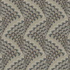 Feather Logic Animal Drapery and Upholstery Fabric by S. Harris