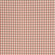 Geranium Check Drapery and Upholstery Fabric by Fabricut