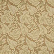 Rattan Leaves Drapery and Upholstery Fabric by Fabricut