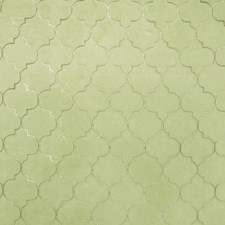 Apple Green Embroidery Drapery and Upholstery Fabric by Fabricut