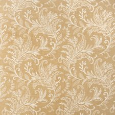 Camel Ja Leaves Drapery and Upholstery Fabric by Fabricut