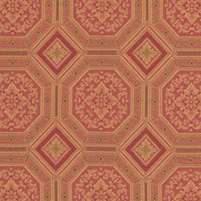 Rose Geometric Drapery and Upholstery Fabric by Vervain