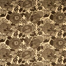 Mink Floral Drapery and Upholstery Fabric by Vervain