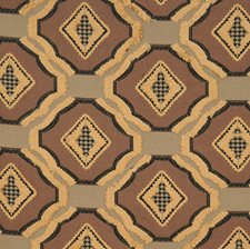 Mink Geometric Drapery and Upholstery Fabric by Vervain