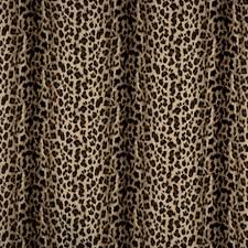 Ebony Animal Drapery and Upholstery Fabric by Vervain