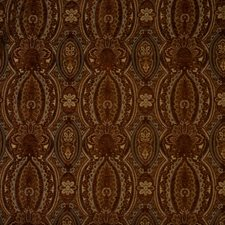Auburn Jacquard Pattern Drapery and Upholstery Fabric by Vervain