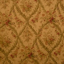 Antique Floral Drapery and Upholstery Fabric by Vervain