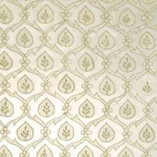 Limestone Leaves Drapery and Upholstery Fabric by Vervain