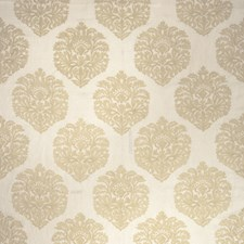 Cream Embroidery Drapery and Upholstery Fabric by Stroheim