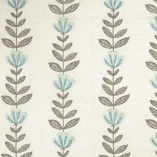 Water Embroidery Drapery and Upholstery Fabric by Stroheim