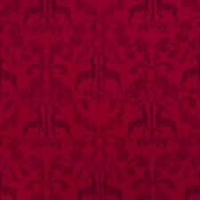 Scarlet Animal Drapery and Upholstery Fabric by Stroheim