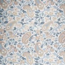 Summer Sky Floral Drapery and Upholstery Fabric by Stroheim