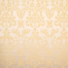 Champagne Damask Drapery and Upholstery Fabric by Trend