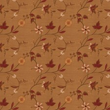 Caramel Embroidery Drapery and Upholstery Fabric by Trend