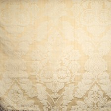 Cream Damask Drapery and Upholstery Fabric by Trend