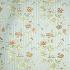 Aquaglace Floral Drapery and Upholstery Fabric by Trend