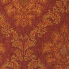 Cranberry Damask Drapery and Upholstery Fabric by Trend