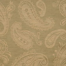 Olivewood Paisley Drapery and Upholstery Fabric by Trend