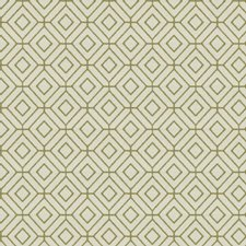 Citrine Geometric Drapery and Upholstery Fabric by Trend