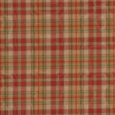 Spice Plaid Drapery and Upholstery Fabric by RM Coco