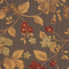 Black Olive Drapery and Upholstery Fabric by RM Coco