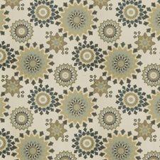 English Garden Geometric Drapery and Upholstery Fabric by Fabricut