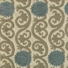 Blue River Drapery and Upholstery Fabric by B. Berger
