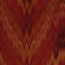 Antique Red Drapery and Upholstery Fabric by RM Coco