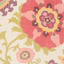 Cherry Blossom Drapery and Upholstery Fabric by RM Coco