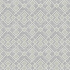 White Embroidery Drapery and Upholstery Fabric by Trend