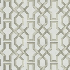 Linen Lattice Drapery and Upholstery Fabric by Trend