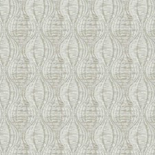 Ivory Embroidery Drapery and Upholstery Fabric by Trend
