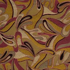 Retro Drapery and Upholstery Fabric by RM Coco