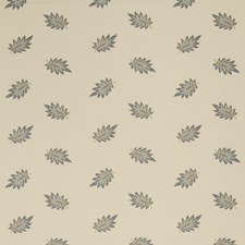 Bleu Leaves Drapery and Upholstery Fabric by Fabricut