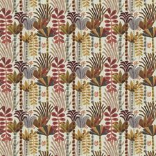Vintage Floral Drapery and Upholstery Fabric by Fabricut