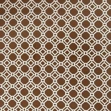 Cocoa Lattice Drapery and Upholstery Fabric by Fabricut