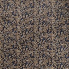 Midnight Paisley Drapery and Upholstery Fabric by Fabricut