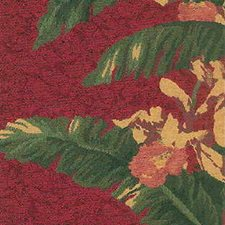 Burgundy/Red/Green Botanical Drapery and Upholstery Fabric by Kravet
