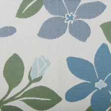 Bluejay Floral Large Drapery and Upholstery Fabric by Duralee