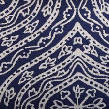 Indigo Ethnic Drapery and Upholstery Fabric by Duralee