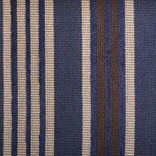 Blue/Brown Chenille Drapery and Upholstery Fabric by Duralee