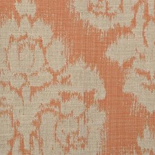 Tangerine Damask Drapery and Upholstery Fabric by Duralee