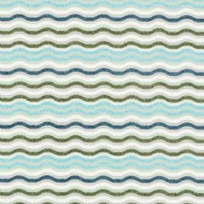 Aqua/Green Chenille Drapery and Upholstery Fabric by Duralee