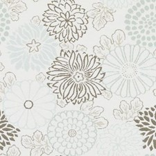 Seaglass Floral Medium Drapery and Upholstery Fabric by Duralee