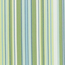 Blue/Green Stripe Drapery and Upholstery Fabric by Duralee