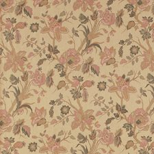 Rose Floral Drapery and Upholstery Fabric by Fabricut