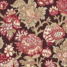 Mulberry Drapery and Upholstery Fabric by Scalamandre