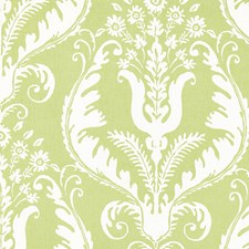 Celery Print Drapery and Upholstery Fabric by Scalamandre